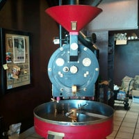 Photo taken at Valhalla Coffee Roasters by David D. on 2/19/2013