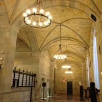 Photo taken at Federal Reserve Bank of New York by Yukari on 2/27/2013