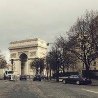 Photo taken at Hôtel Arc de Triomphe Étoile by LincolnGreen on 1/12/2015