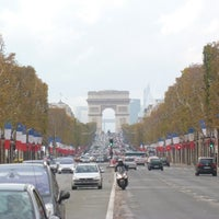 Photo taken at Gardens of the Champs-Élysées by David M. on 1/21/2013