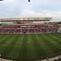 Photo taken at Toyota Park by V G. on 6/9/2013