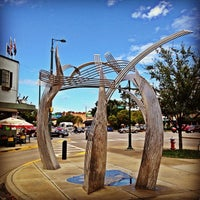 Photo taken at Hootie and the Blowfish Monument by University of South Carolina on 10/2/2012