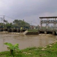 Photo taken at Dam Bendungan Sungai Citarik Majalaya by Jana A. on 12/18/2013