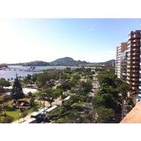 Photo taken at Praia do Canto by Erick C. on 12/27/2013