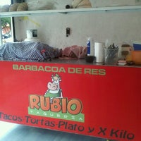 Photo taken at Taqueria Rubio (Barbacoa De Res) by Anylu R. on 8/16/2013
