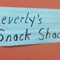 Photo taken at Beverly's Snack Shack by Stuart W. on 4/22/2013
