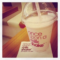 Photo taken at once upon a milkshake by Stacy N. on 7/19/2013