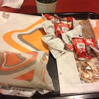 Photo taken at Taco Bell by Aaron E. on 12/1/2012