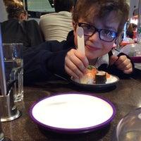 Photo taken at YO! Sushi by Fernando d. on 4/17/2014