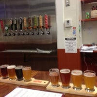 Photo taken at The Phoenix Ale Brewery by Dan the Man on 7/28/2013