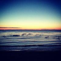 Photo taken at Пляж Финского Залива by Alexandra K. on 6/15/2013