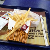 Photo taken at Burger King by Carlos Javier D. on 11/22/2012