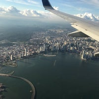Photo taken at Airport Club Panamá by Carlos I. on 8/21/2017