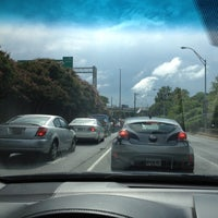 Photo taken at I-85 Exit 88: Cheshire Bridge Road by Tim J. on 8/24/2016