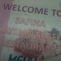 Photo taken at Safina Malaysian Seafood by Fizi A. on 5/16/2013