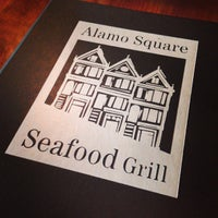 Photo taken at Alamo Square Seafood Grill by Jay R. on 8/28/2013