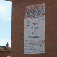 Photo taken at Liceo Castilla (Maristas Burgos) by RoCas on 10/16/2012