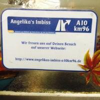 Photo taken at Autobahn Parkplatz mit Imbiss by Simon M. on 11/7/2014