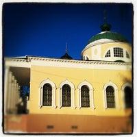 Снимок сделан в Спасо-Преображенский монастырь пользователем Dmitry S. 12/17/2012