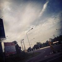 Photo taken at Krasang Intersection by Sabus N. on 7/5/2014