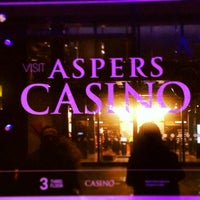Photo taken at Aspers Casino by Justina on 2/8/2013