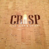 Photo taken at Crisp Wine-Beer-Eatery by Cooper K. on 1/6/2013