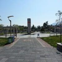 Photo taken at Beşkaza Meydanı by Ahmet A. on 5/7/2013