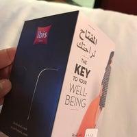 Photo taken at Hotel Ibis Seef Manama by Ijad . on 11/8/2017