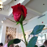 Photo taken at Grand Floridian Cafe by Adam P. on 1/3/2013