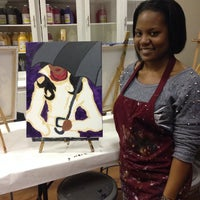 Photo taken at Painting with a Twist by Co'Meshia on 3/12/2014