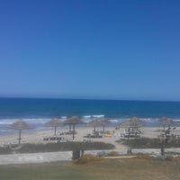 Photo taken at Beach of Lyttos Beach by Oleksandr K. on 4/29/2014