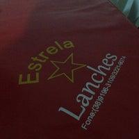 Photo taken at Estrela Lanches by Izabela B. on 10/22/2014