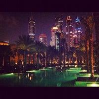 12/5/2012 tarihinde Vanessaziyaretçi tarafından One and Only Royal Mirage Resort'de çekilen fotoğraf