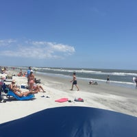 Photo taken at South Forest Beach by John B. on 5/23/2015