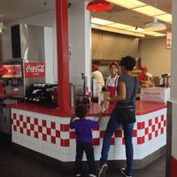 Photo taken at Five Guys by Dirk V. on 6/21/2014