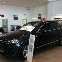 Photo taken at Volkswagen ТрансТехСервис by Levon on 1/10/2013