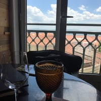 Photo taken at Tágide Wine & Tapas Bar by Maria S. on 4/29/2017