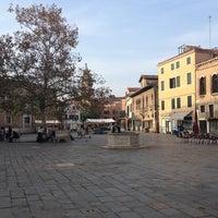 Photo taken at Campo Santa Margherita by Chiara on 10/19/2012