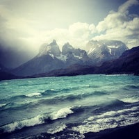 Photo taken at Parque Nacional Torres del Paine by Angela on 11/27/2012
