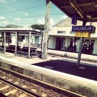 Photo taken at Gare SNCF de Saumur by Ben J. D. on 7/15/2013