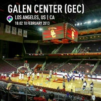 Photo taken at Galen Center (GEC) by Ben J. D. on 2/11/2013