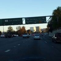 Photo taken at US-101 / I-405 Interchange by Ben J. D. on 2/15/2014