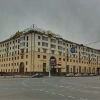 Photo taken at Гостиница «Минск» / Minsk Hotel by Andrei R. on 10/27/2012