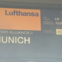 Photo taken at Lufthansa Flight LH 1713 by Andreas M. on 8/13/2016