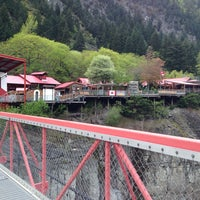 Photo taken at Hell's Gate Airtram by Christian S. on 5/3/2014