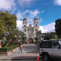 Photo taken at Parque Central Guasca by Patricia P. on 12/10/2013
