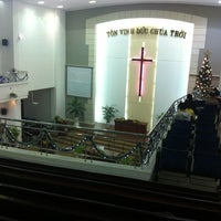 Photo taken at Da Nang Protestant Church by Sinh H. on 12/9/2012
