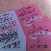 Photo taken at Bow Tie Cinemas Warner Quad by Joel A. on 1/15/2013