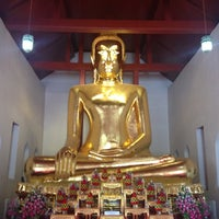 Photo taken at Wat Sao Thong Tong by View V. on 4/15/2013