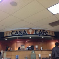 Photo taken at Cana Cafe by Elizabeth D. on 1/27/2013